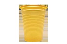 כוס פלסטיק צבעונית 180cc