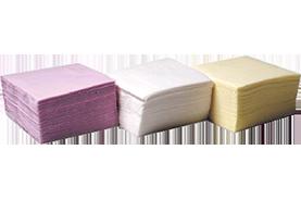 מפיות נייר טישו חד שכבתי - לבן