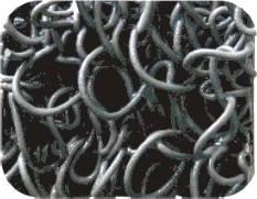 שטיח לולאות עם בטנה , לתנועה כבדה