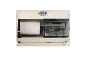 מתקן נייר טואלט זוגי אופקי