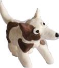 כלב פלסטלינה