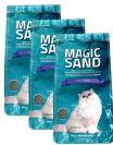 """מבצע חול מתגבש לחתולים מג'יק סנד עם מנטרל ריחות 30 ק""""ג"""