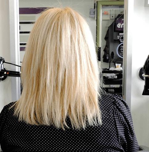 מילוי שיער בלונד גלי פתח תקווה לאזר לוי תוספות