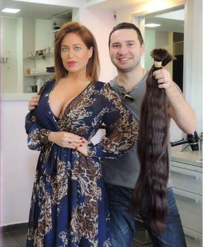 חידוש תוספות שיער-תמונות-ביצוע הארכת שיער לאביבית