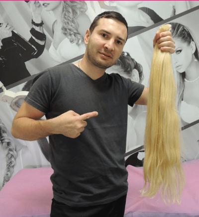 חידוש תוספות שיער-קוקו-תמונות-בלונד פרימיום איכותי