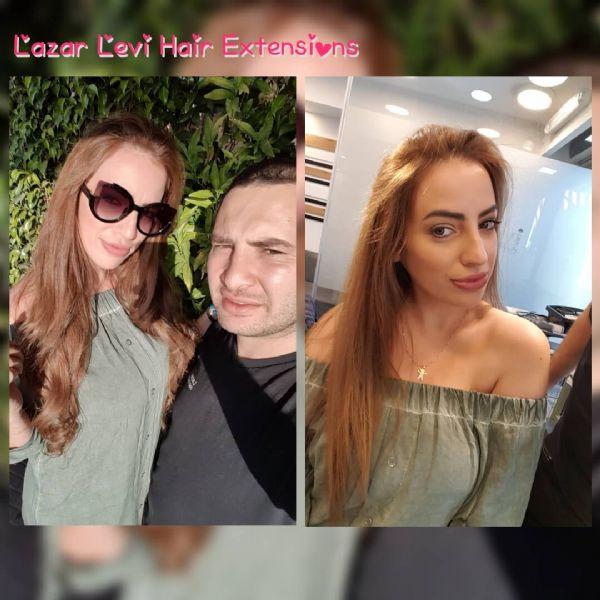 חן טל תוספות שיער תמונות-תוספות שיער לאזר לוי