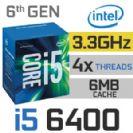 מעבד אינטל INTEL I5 6400 2.7GHZ LGA1151