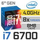 מעבד INTEL I7 6700 3.4GHZ LGA1151