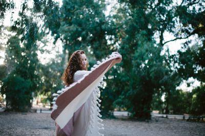 מגבת חמאם דגם יהלום