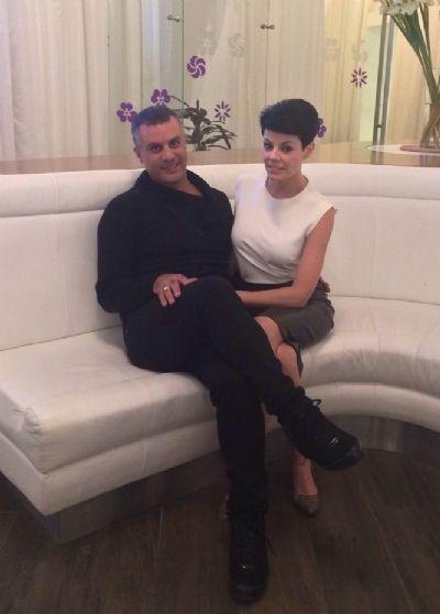 דנה רון ויניב נתי בVIM ספא