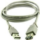 כבל USB זכר לנקבה 1.8 מטר GPT שחור