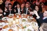 צבי כהן, שגריר ישראל (לשעבר) בקפריסין גורג´ מינטיס, דירקטור במועצת המנהלים של ארגון התיירות הקפריסאי ורעייתו מריה. ג´ורג´ זודיאטס, שגריר קפריסין בישראל