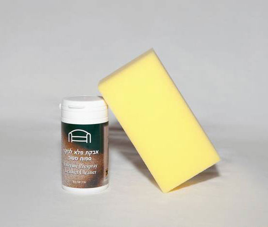 """אבקת פלא לניקוי ספות מעור 100 ג""""ר - MasterBlend USA"""