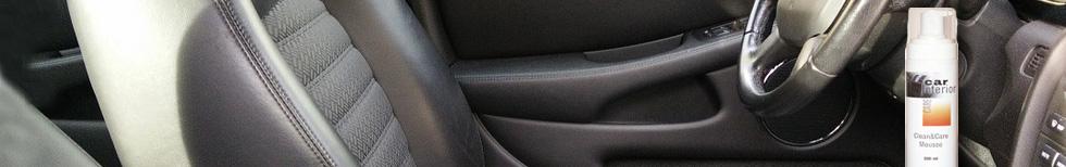 מוצרים לניקוי מושבי רכב