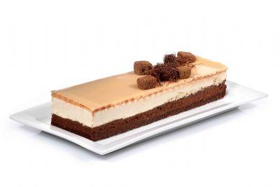 עוגת אינגליש מוס חלבה ושוקולד מריר