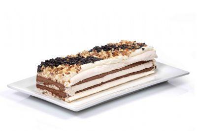 עוגת אינגליש מוס שלושה שוקולדים