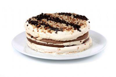 עוגת מוס שלושה שוקולדים
