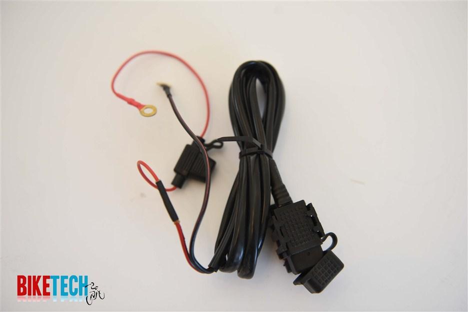 קיט מושלם בעל פתח USB לטעינת סמארטפונים לאופניים