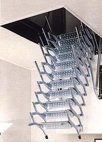 מדרגות מתקפלות