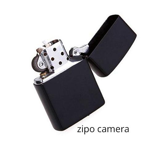 מצלמה נסתרת במצית זיפו