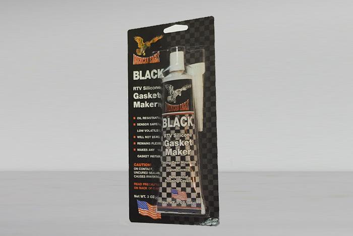 סיליקון שחור בשפורפרת - תוצרת American Eagle