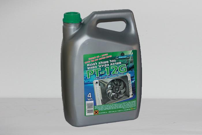 נוזל קירור 4 ליטר - PT-12G - תוצרת Partner
