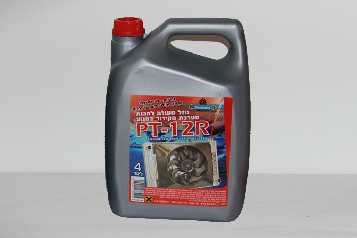 נוזל קירור 4 ליטר - PT12-R - תוצרת Partner