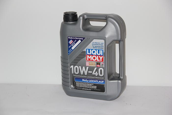 שמן מנוע 10W40 חצי סינטטי מתוסף - תוצרת גרמניה Liqui Moly