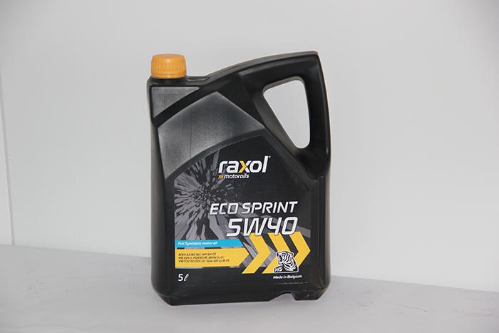 שמן מנוע 5W40 סינטטי מלא - 5 ליטר - תוצרת בלגיה RAXOL