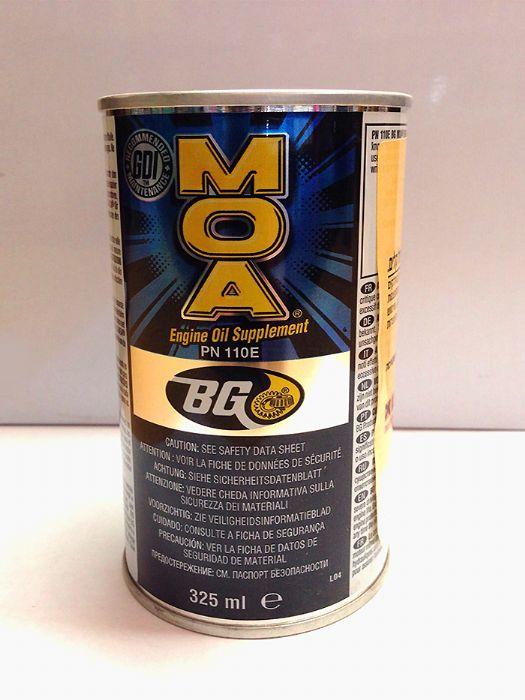 תוסף לשמן מנוע MOA - תוצרת BG
