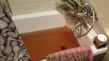 אינה בקר - אמבטיה חמה עם צמחי מרפא