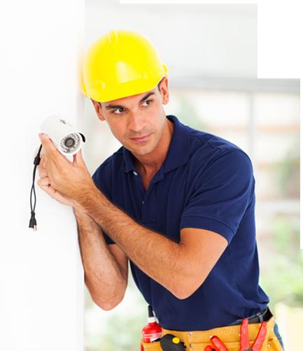 התקנת מצלמות אבטחה לבית או לעסק