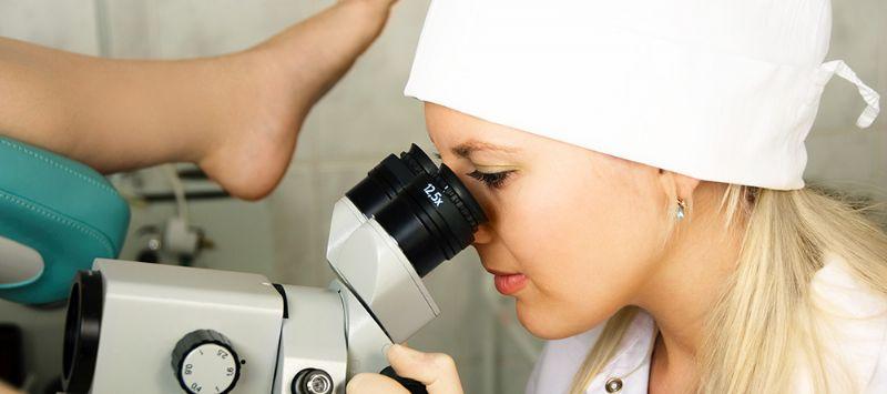 בדיקה אצל גניקולוג