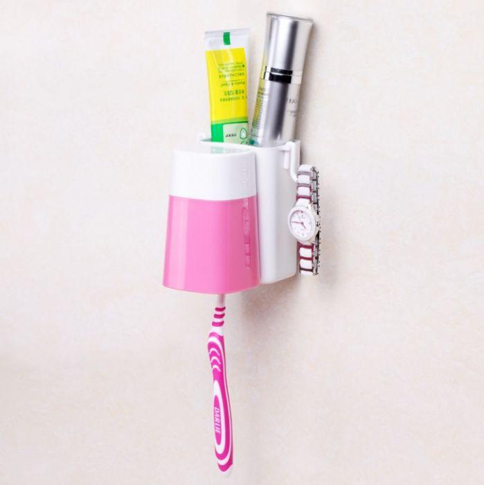 מתלה יחיד מברשת שיניים