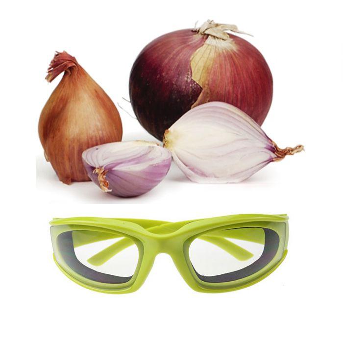 משקפיים לחיתוך בצל למניעת צריבה