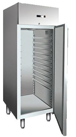 PAT800 - מקרר/מקפיא נירוסטה