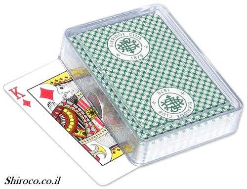 מארז פרספקס קלפים