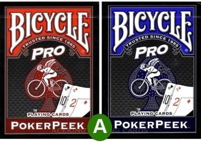 אזל, קלפים peek bicycle איכותי, שני ב 50% הנחה