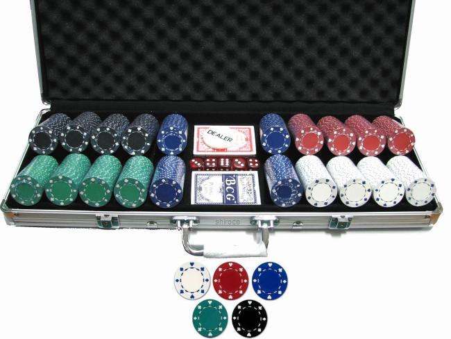 מזוודה פוקר בלק ג'ק 500 ז'יטון סוט ב4 צבעים