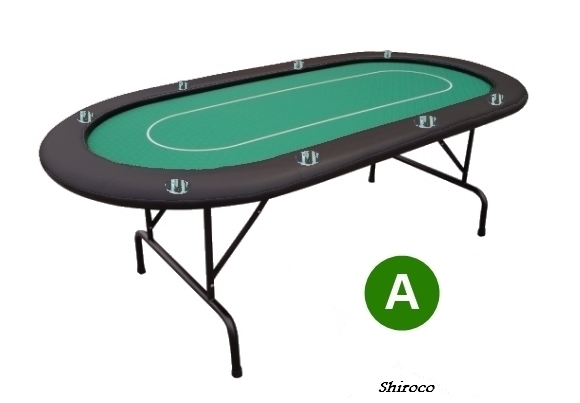 שולחן 1.80 קלפים 8 דוחה נוזלים