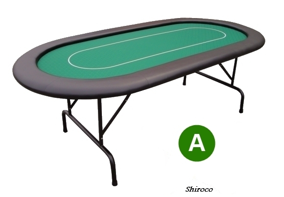 """אזל, שולחן פוקר 2.10 """"טקסס"""""""