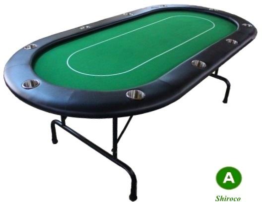 """שולחן פוקר 2.10 """"טקסס"""""""
