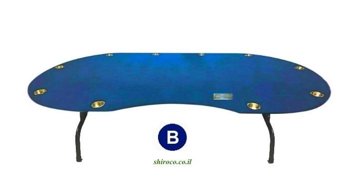 """שולחן קלפים """"פאולינה"""" XL 2.40"""