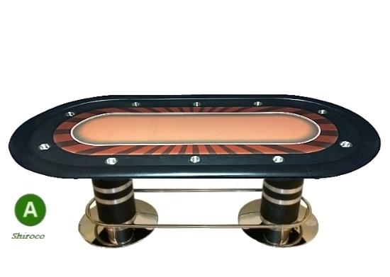 """שולחן קזינו קלפים """"קנקון + """" 2.40"""