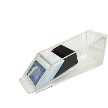 נעל קלפים שקופה לשולחן דילר - פוקר בלק גק 21