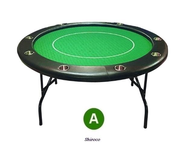 """שולחן פוקר 1.50 עגול ענק """"לופו"""""""