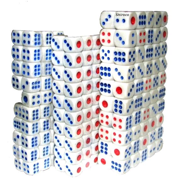 קוביות למשחקים שש בש מונופול