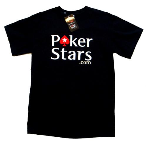 אזל, חולצת T פוקר מבית POKER STARS