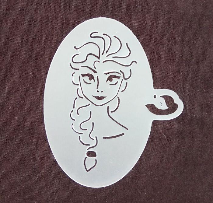 תמונה של שבלונת נסיכת שלג