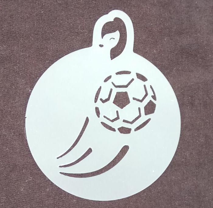 תמונה של שבלונה כדורגל